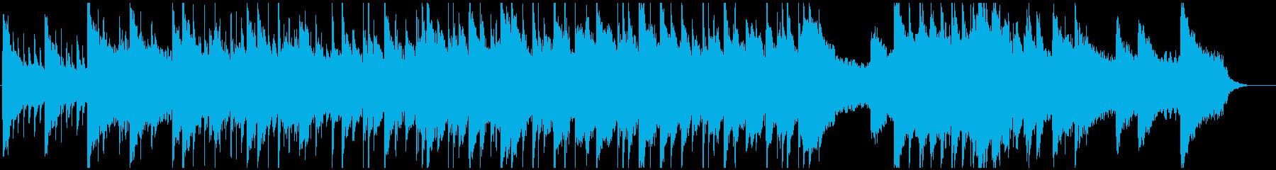 柔らかくも謎めいた日常のテクスチャー風曲の再生済みの波形