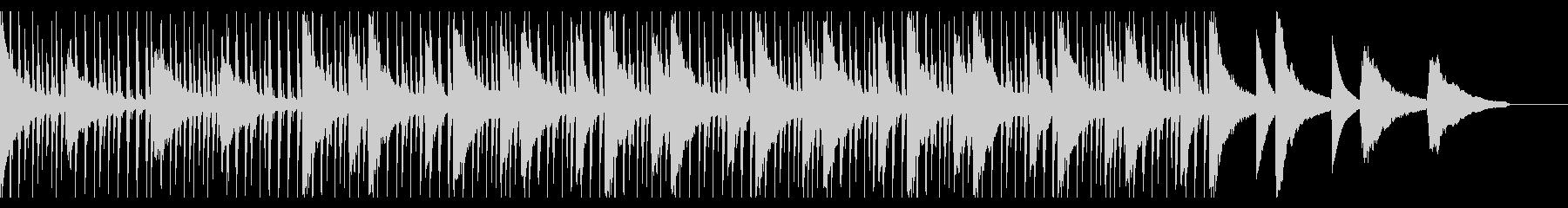 ネオソウル 爽やかソウルフルドラムの未再生の波形