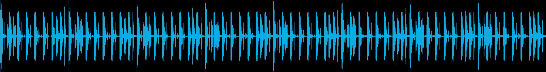 待ち時間や考えている時などに使えそうな音の再生済みの波形