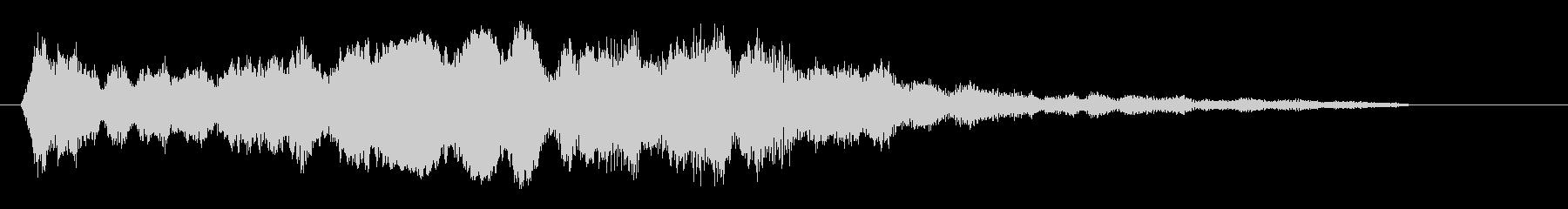 ピキーッ!(高音の短い金属音)の未再生の波形