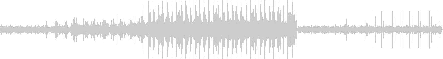 未来的で不思議な雰囲気のBGMの未再生の波形