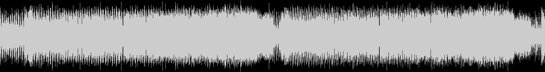 レトロゲーム風クールな感じ・FM音源版の未再生の波形