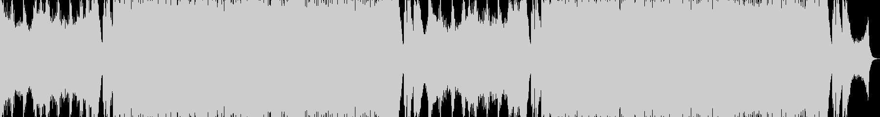 期待感を煽る壮大なエピック音楽の未再生の波形
