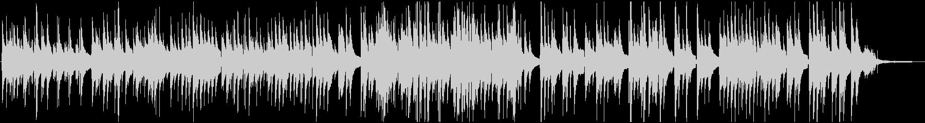 『背くらべ』のSTEM版デュオの未再生の波形