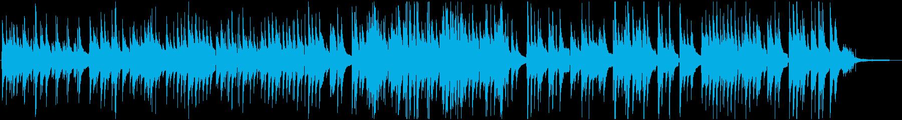 『背くらべ』のSTEM版デュオの再生済みの波形