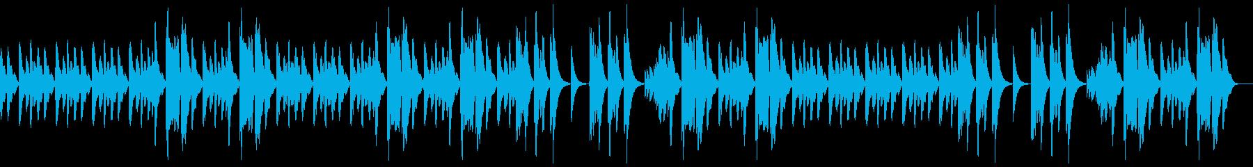 (ピアノソロ)ゆったりとした曲、ほのぼのの再生済みの波形