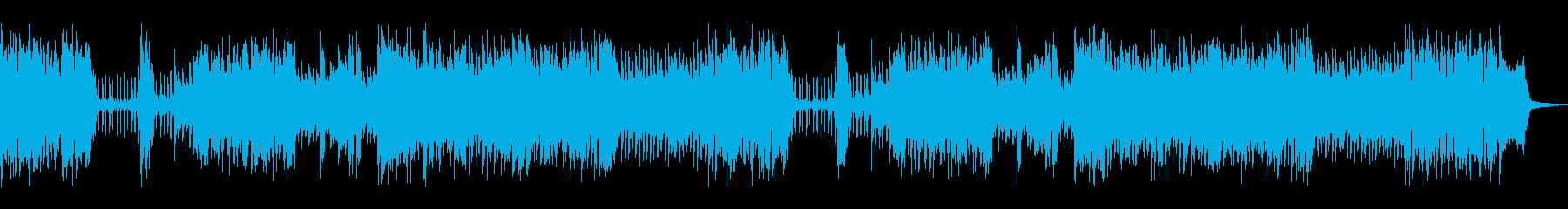 スパイイメージのレトロでジャジーな曲の再生済みの波形