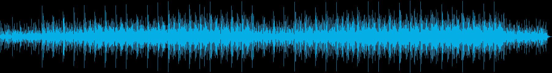 優しいアンビエント系エレクトロニカの再生済みの波形