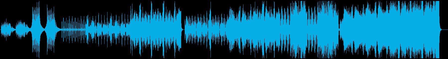 切ない感じのテクノオーケストラの再生済みの波形
