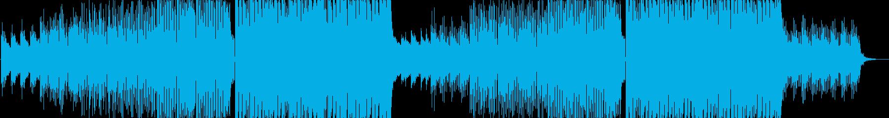 おしゃれでエモいFuture Bassの再生済みの波形