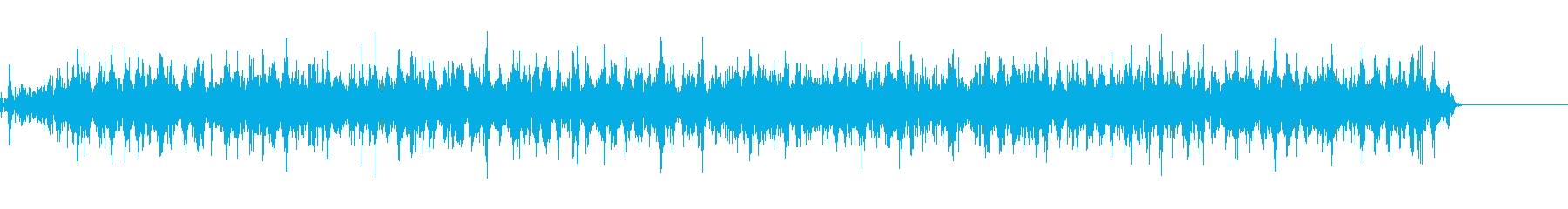 機械稼働音 2の再生済みの波形