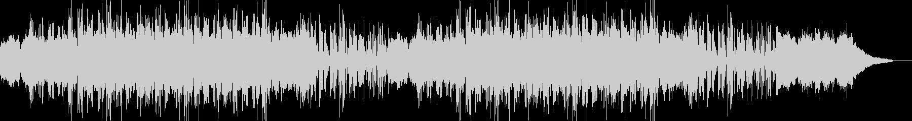 反復されるピアノフレーズとドラムビートの未再生の波形