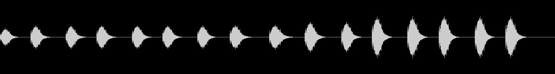 レーザーブラスト、各種1:Alt。強度の未再生の波形