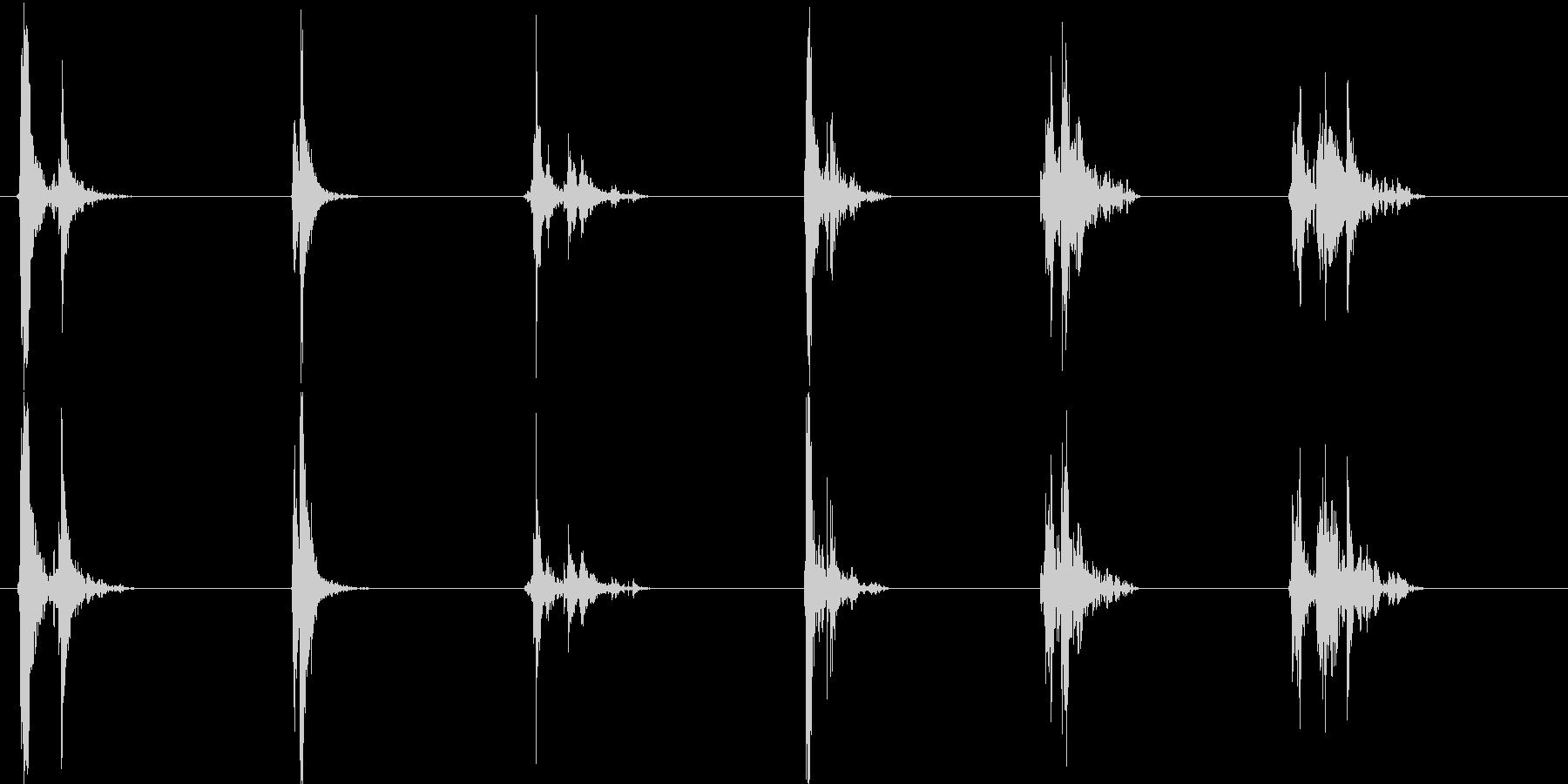 ウィンドウ3;開閉、ドライインテリアの未再生の波形