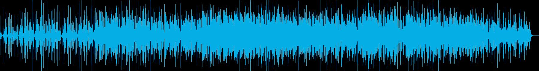 かっこいいベースの再生済みの波形