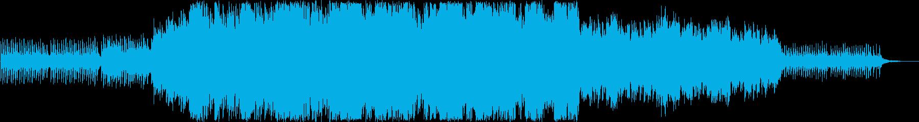 【涙・感動・壮大】ピアノオーケストラの再生済みの波形