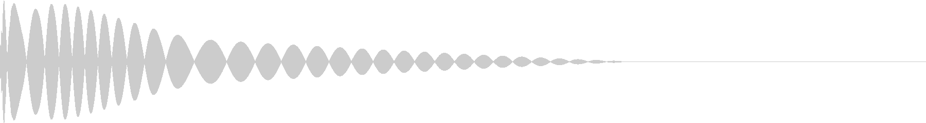 DTM Kick 18 オリジナル音源の未再生の波形