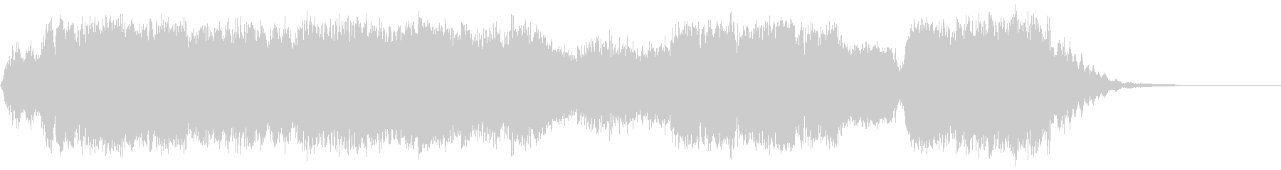 オールインワンの未再生の波形