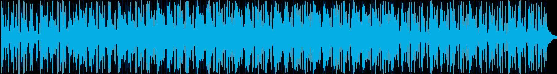 孤独感をイメージしたBGMの再生済みの波形