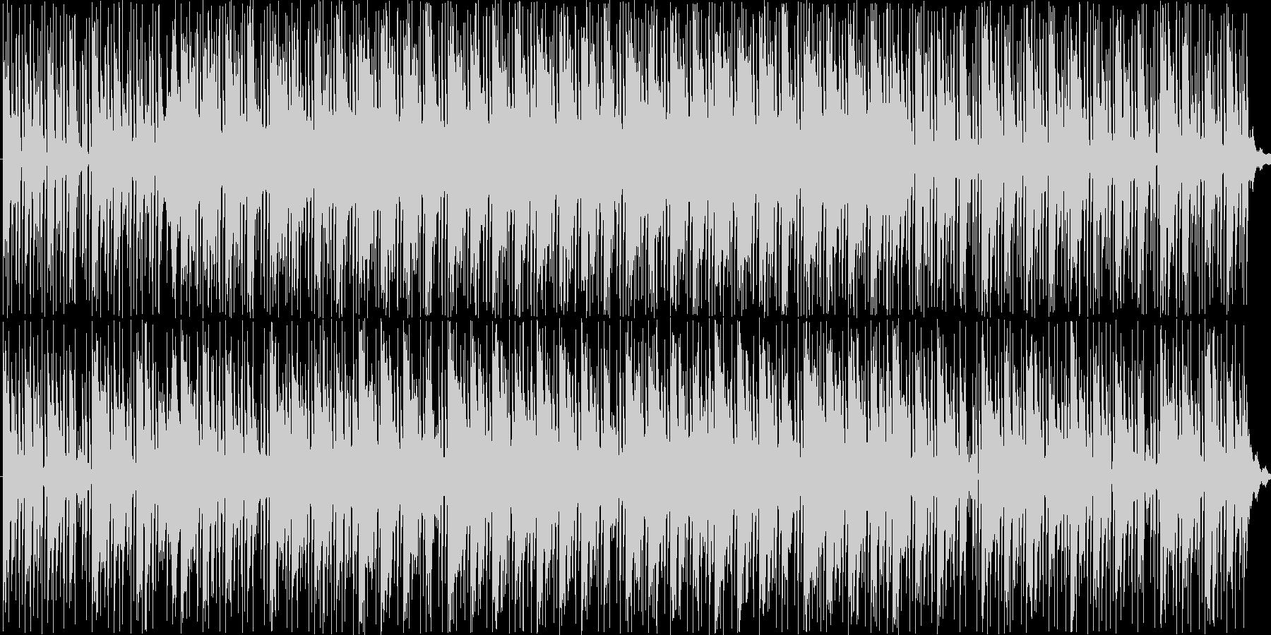 孤独感をイメージしたBGMの未再生の波形