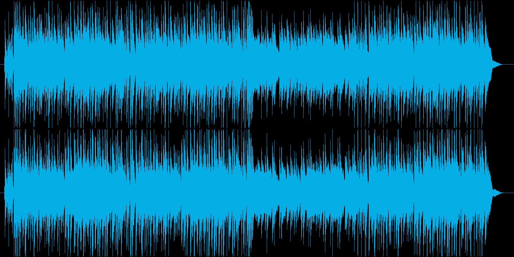 明るく軽快なアコースティックギターの調べの再生済みの波形