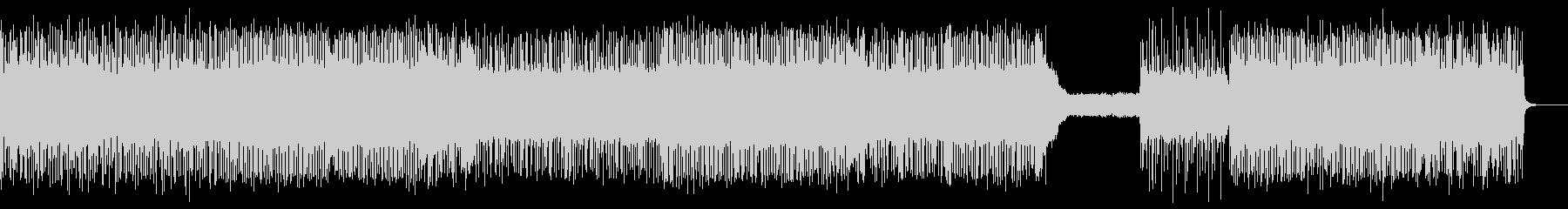 熱いギターロックBGM7_Lの未再生の波形