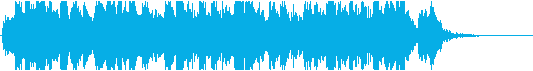 Halloween opening jingle's reproduced waveform