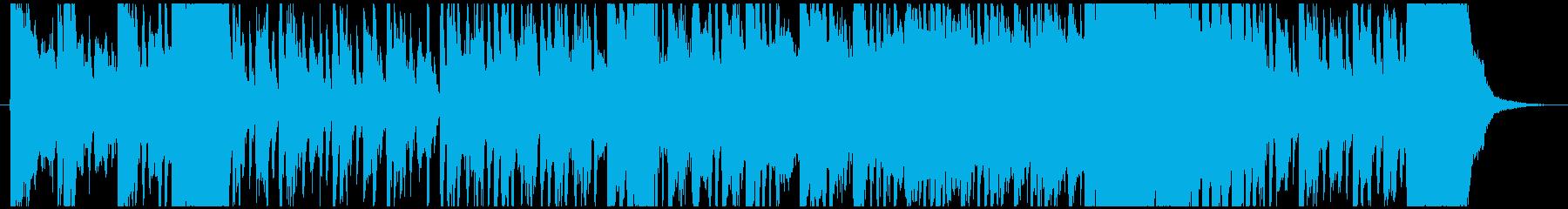 コミカルでかっこいいミッション音楽の再生済みの波形