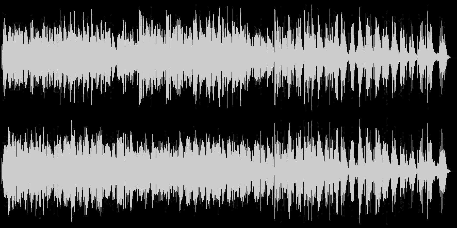 悲しくて切ないピアノ伴奏の音楽の未再生の波形