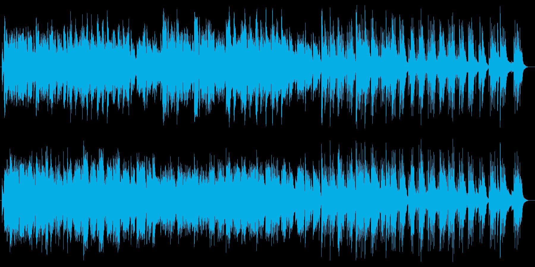 悲しくて切ないピアノ伴奏の音楽の再生済みの波形