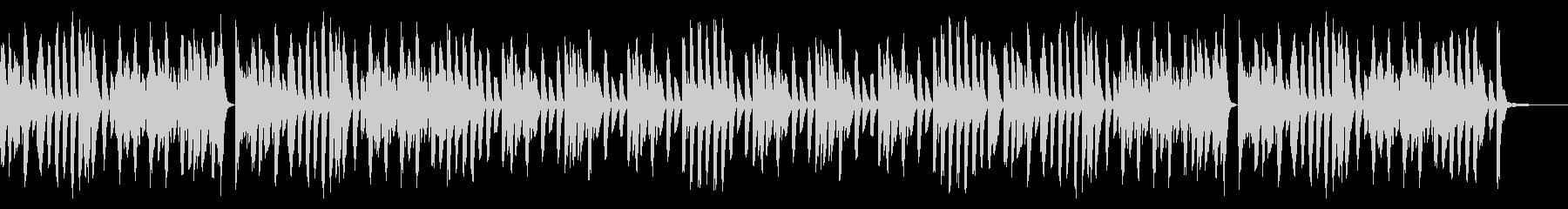 ラグタイム/楽しい/ホンキートンクの未再生の波形