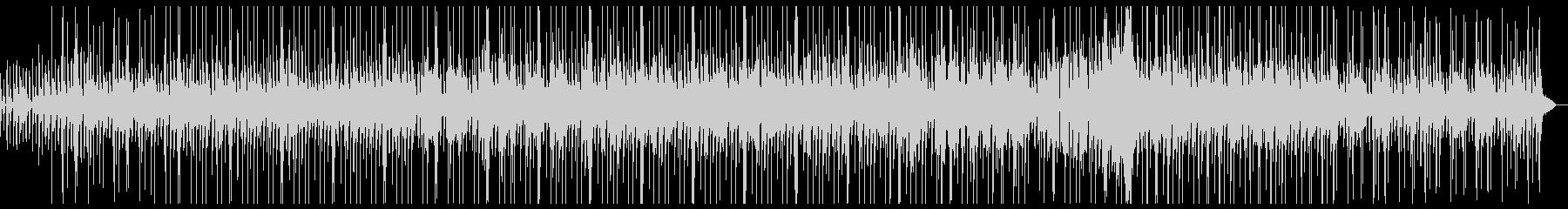 クラシックギターのスムースジャズの未再生の波形