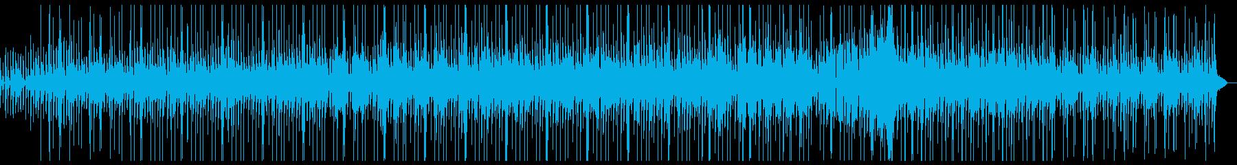 クラシックギターのスムースジャズの再生済みの波形