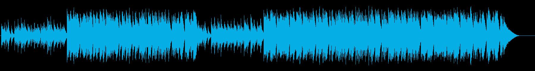 かわいいセミクラシックの再生済みの波形