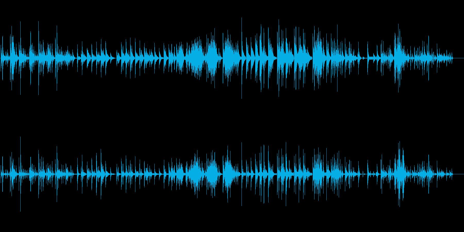 生ピアノソロ・漂う海月(ソフトピアノ)の再生済みの波形