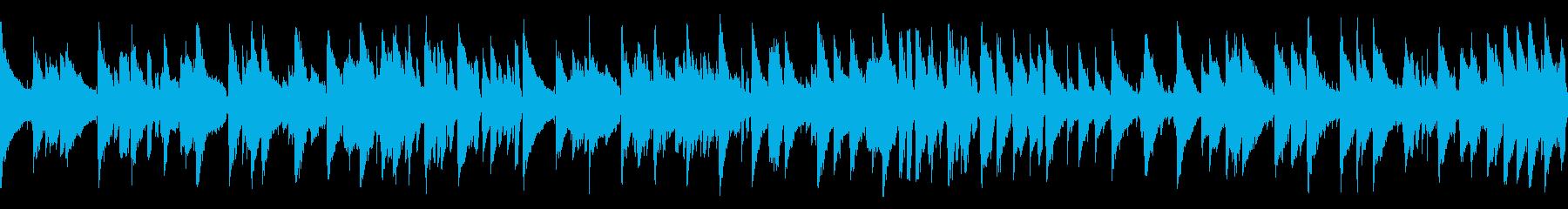 優雅なジャズでショパンの名曲(ループの再生済みの波形