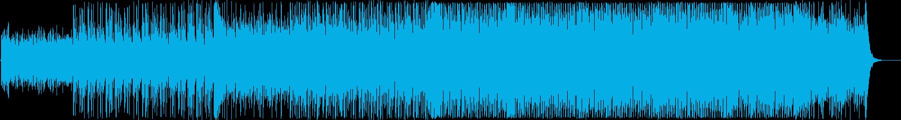 爽やかで勢いのある前向きなテクノEDMの再生済みの波形