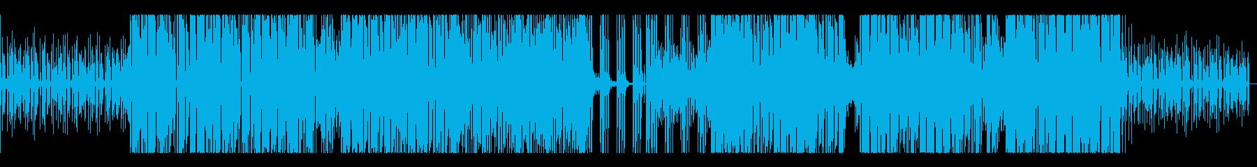 デジタル・ラティーノ・エレクトロの再生済みの波形