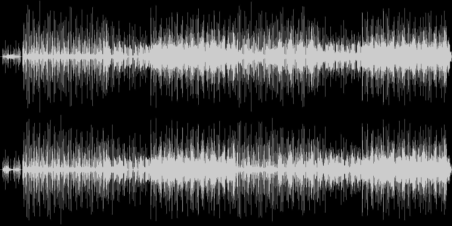 コミカルな曲調で柔らかい雰囲気のBGMの未再生の波形