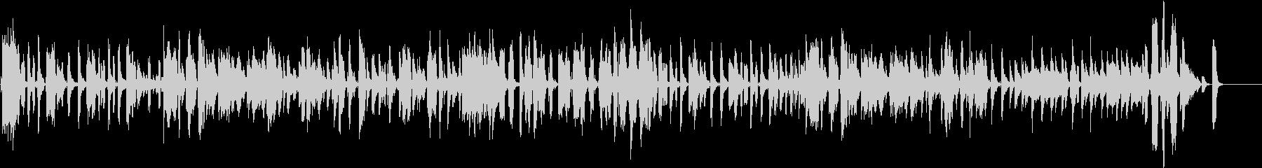 ビックバンドJAZZの未再生の波形