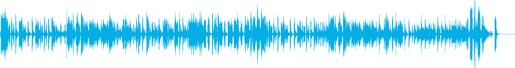 ビックバンドJAZZの再生済みの波形