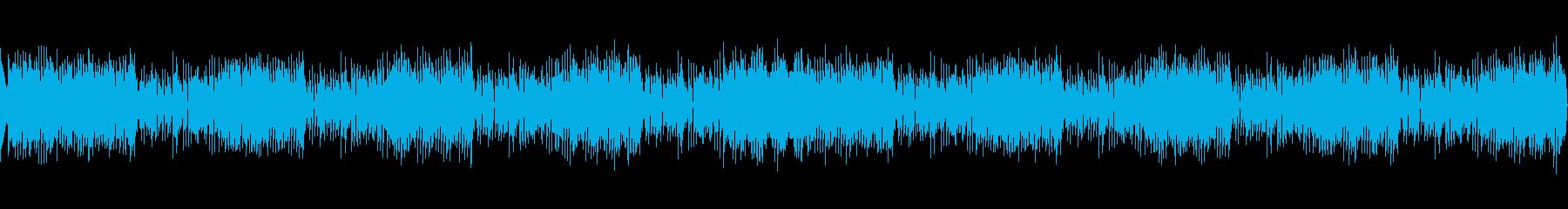 高音質ロックテイストホーンセクションの再生済みの波形
