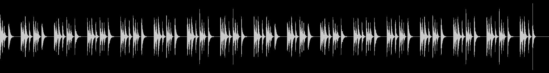 マリンバ・どんぐり・まつぼっくり・穏やかの未再生の波形