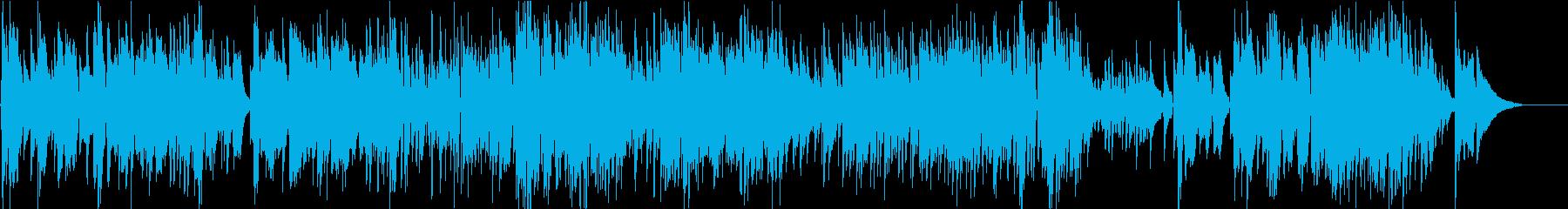 バリトンサックスとアコギのワルツの再生済みの波形