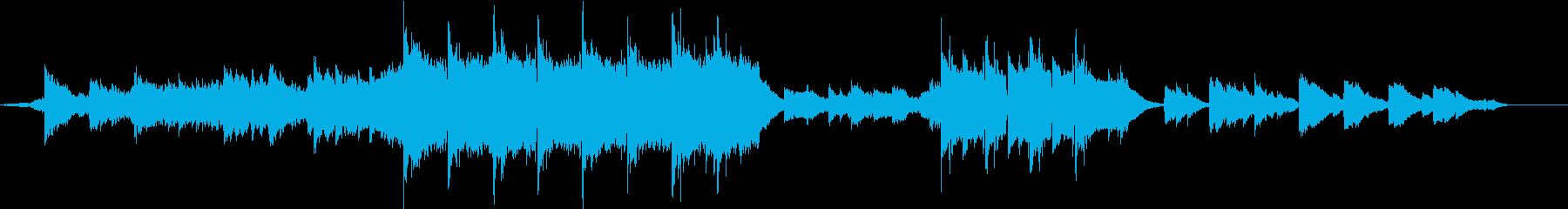ヒンヤリとした幻想的なチルアウトの再生済みの波形