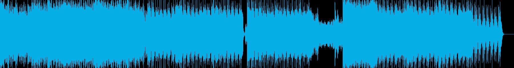 歴史的、壮大なシンセストリングスの再生済みの波形