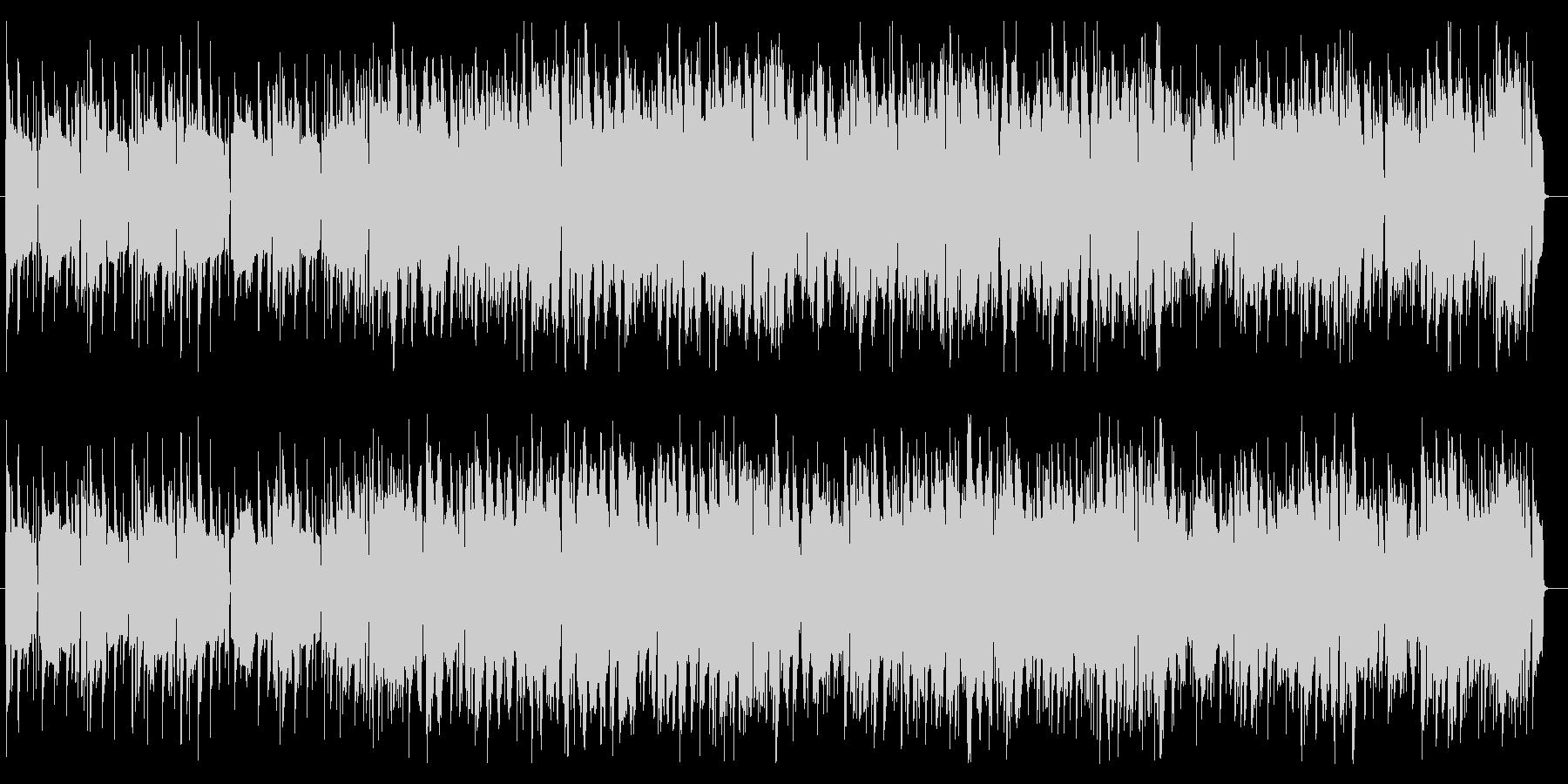 クールなヒップホップ系インストBGMの未再生の波形