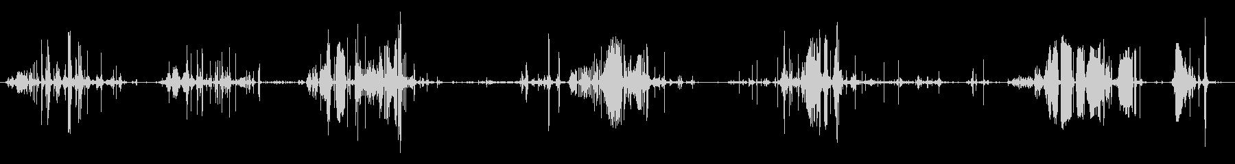 ウェットラバー:いくつかのハードキーキーの未再生の波形