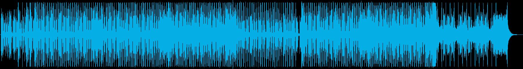 シンセパッドが印象的なクールディスコダブの再生済みの波形
