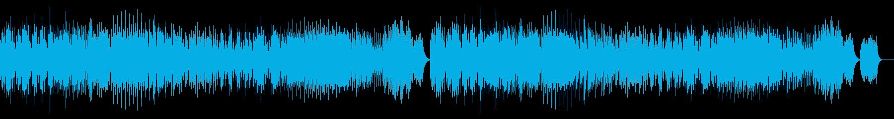 不思議な森のイメージ/チェレスタの再生済みの波形